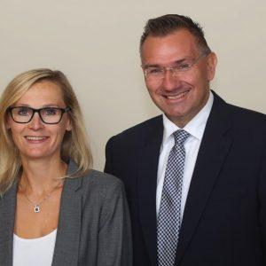 Juliane Frey und Klaus Büttner.